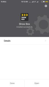 show box pro install